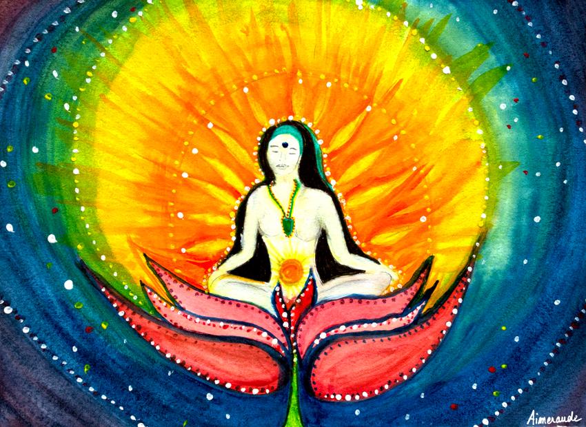déesse féminin sacrée