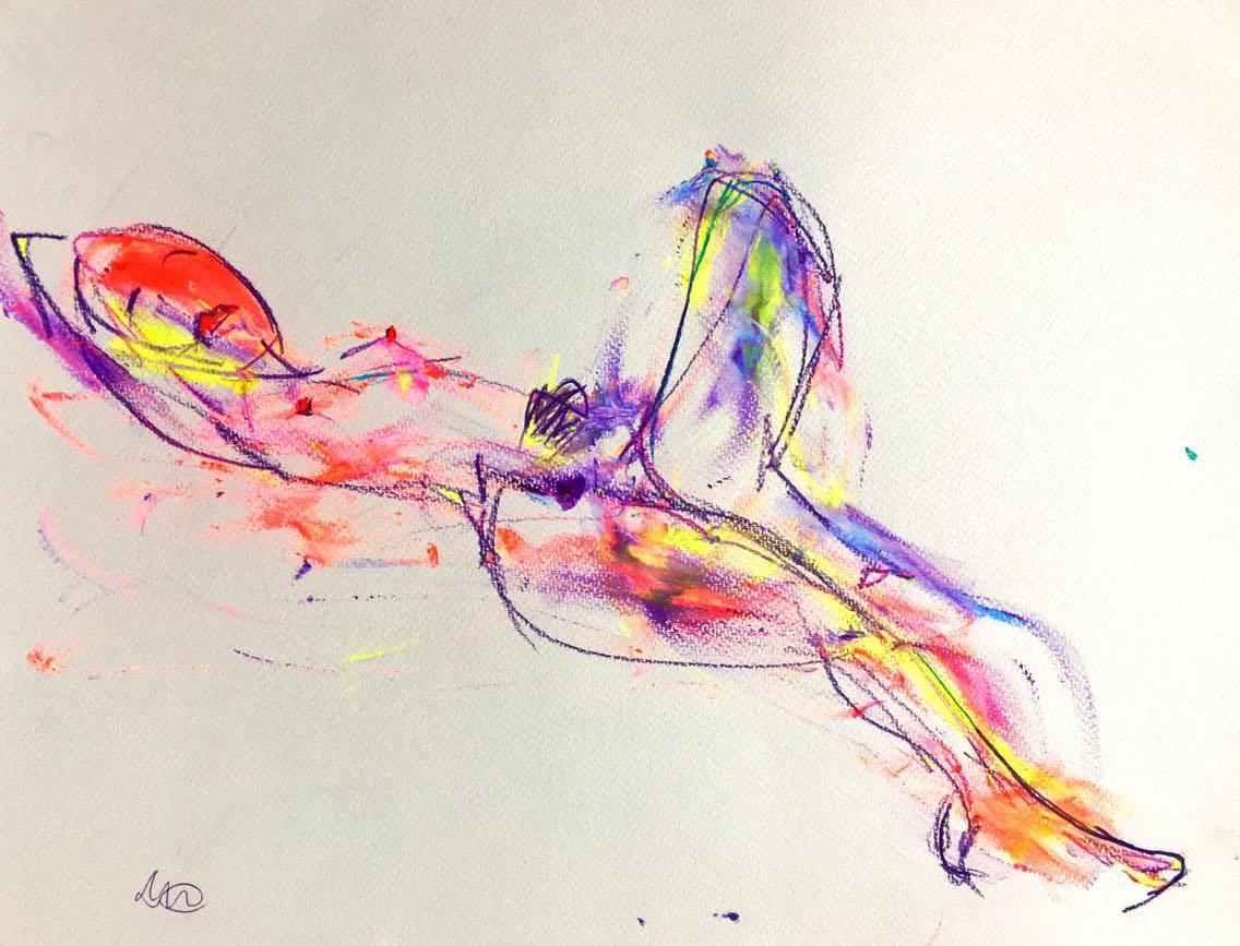 Aimeraude nue - © david Dehaineault