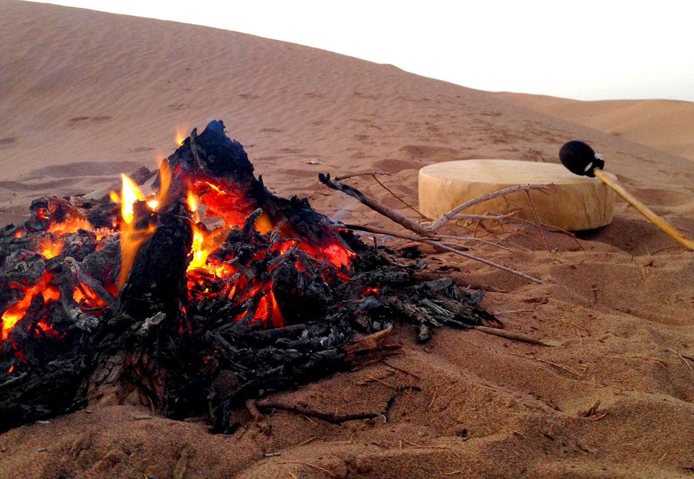 tambour chamanique désert