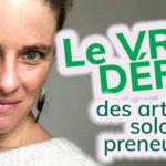 [VIDÉO] Le (vrai) défi des femmes artistes auto-entrepreneuses